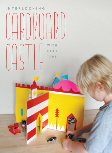 Cool Carboard Castle Creation