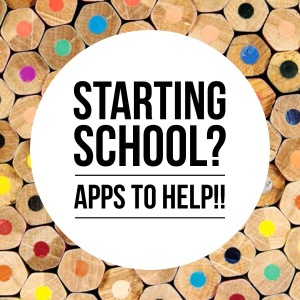 starting school apps
