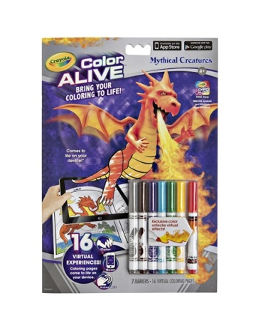 Color Alive Mythical Creatures